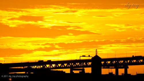 横浜の日の出