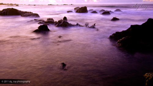 房総半島 朝の海