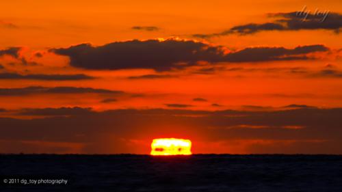 南房総 海からの日の出