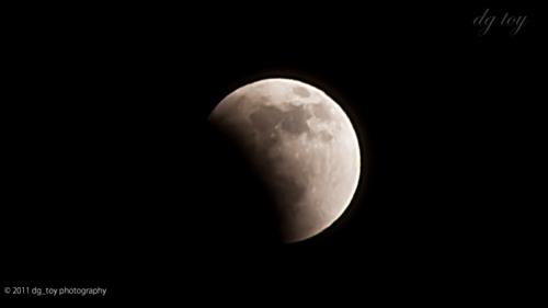 Lunar eclipse[月蝕2011]