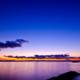 富津岬の夕空