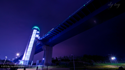 東京ゲートブリッジライトアップ