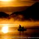 朝の榛名湖