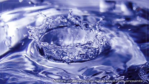 ミルククラウンと水の王冠