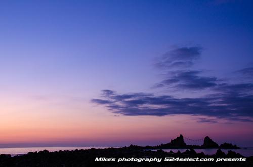真鶴半島の薄明