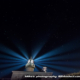 城ヶ島灯台の光跡