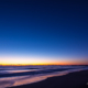 薄明の九十九里浜