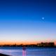 朝薄明の空[葛西臨海公園]-Tokyo Japan Sunrise at Kasai Seaside Park