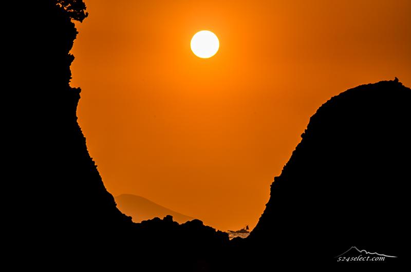 伊豆半島田牛から日の出〜朝日の撮影に最高のロケーション!下田からの朝日撮影スポットのひとつ