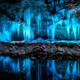 三十槌の氷柱(みそつちのつらら) ライトアップ 2014