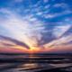東京湾の夕焼け空[木更津] Sunset Japan-Tokyo bay