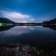 精進湖に映る月夜の富士山[Mt.Fuji Shojiko moonlight Japan]