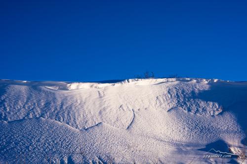 雪景色の撮影