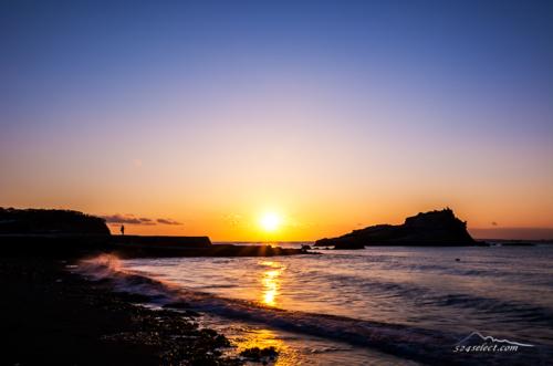 房総半島 勝山[夕日編] Sunset Tokyobay Japan