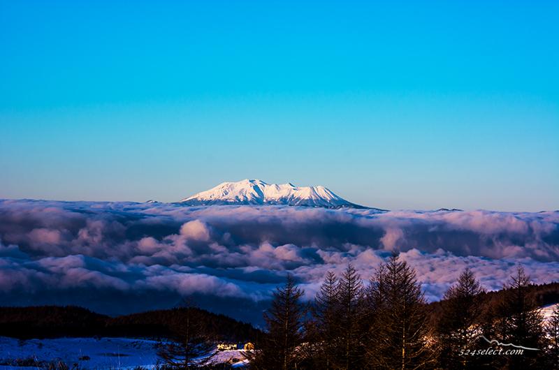 雲海と雪の山々〜冬の雪山に風景写真を撮りに行く信州路!雲海撮影が楽しくなる冬の風景