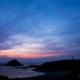 伊豆爪木崎の朝の薄明-Blue hour IZU Japan