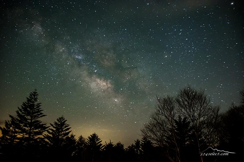 美ヶ原で撮る5月の天の川〜春の夜空を信州で楽しむ星空撮影!これからが旬の天の川撮影