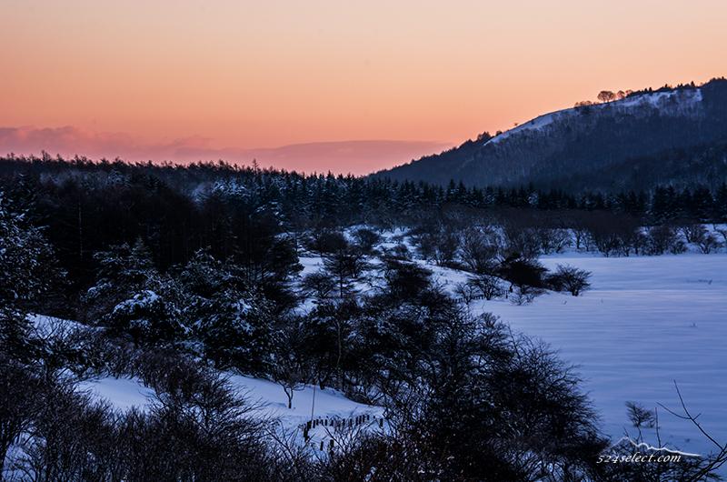 長野県の冬景色〜ビーナスラインで朝の日射しと雪景色を撮影!冬の風景写真に最強のエリア